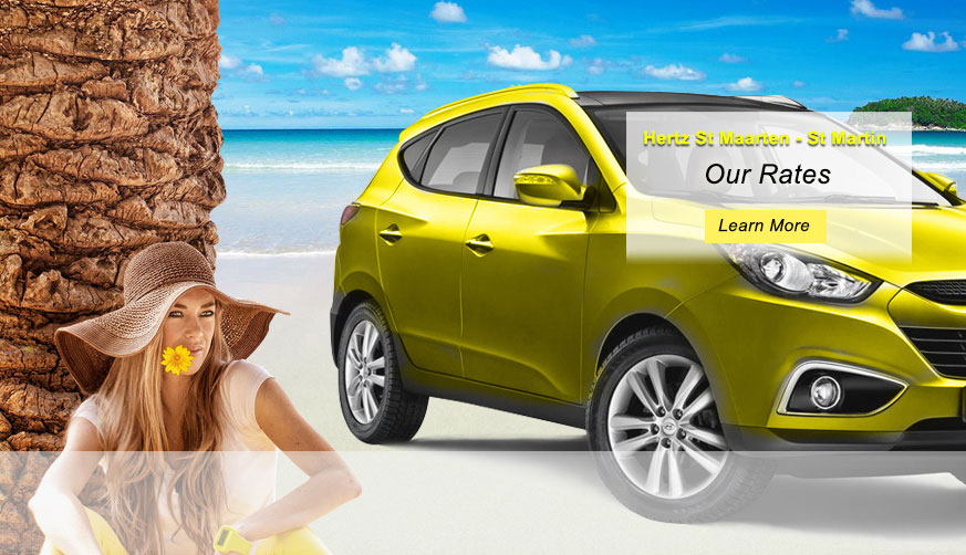 Amazing Hertz Car Rental St. Maarten